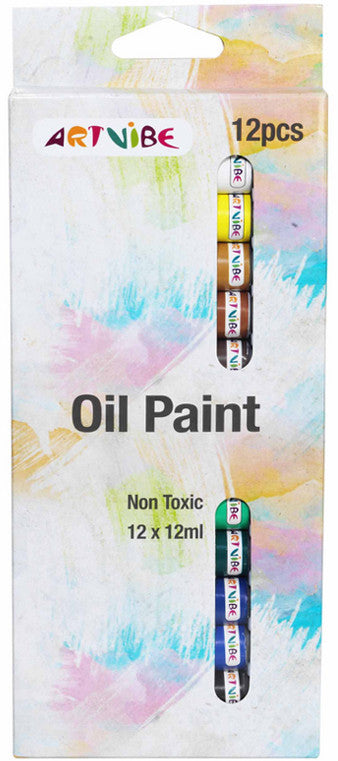 Oil Paint Set - 12pk