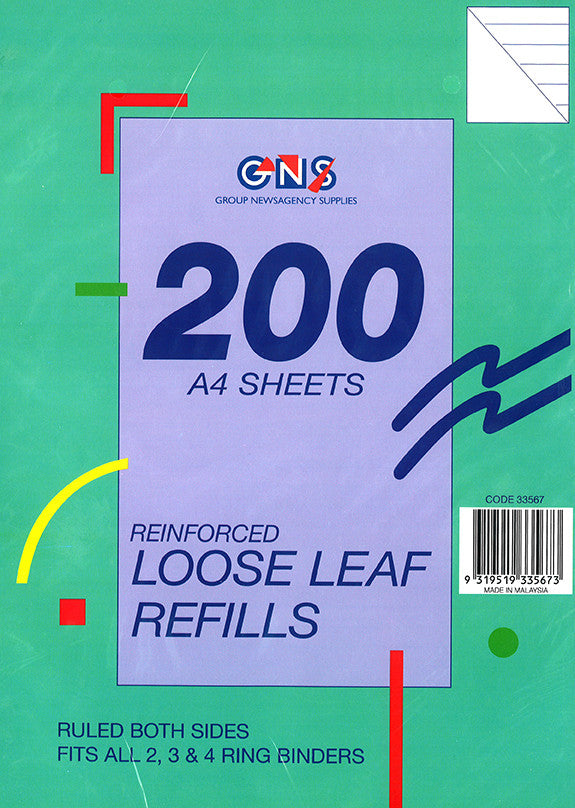 Loose Leaf Refill - GNS