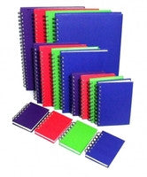 Notebook Bright Coloured Asst Colours