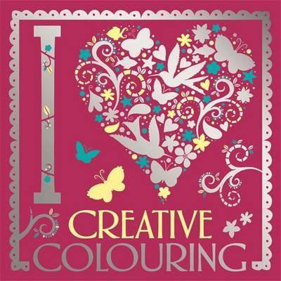 I Heart Colouring - Adult Colouring Book