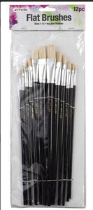 Hog Hair Bristle Brush Packs