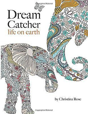 Dream Catcher - Adult Colouring Book
