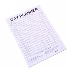 A4 Day Planner Pad - Quill