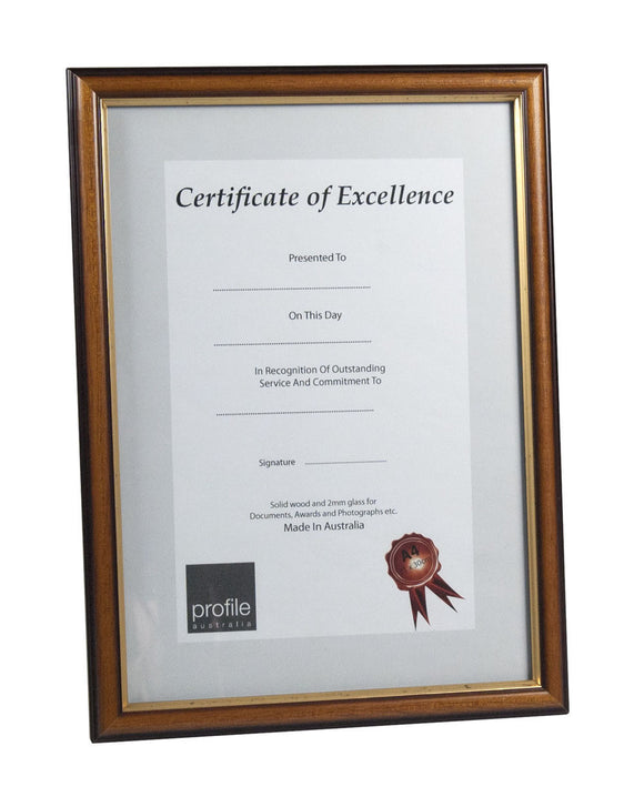A4 Certificate Frame - Various Styles