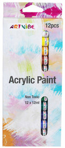 Acrylic Paint Set - 12pk