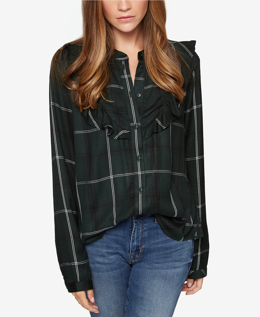 Prairie Top in Meadow Plaid