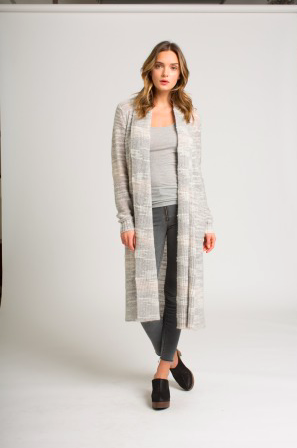 Jeronimo Duster in Heather Grey