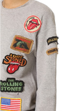 Rolling Stones 1978 Vintage Patches Sweatshirt