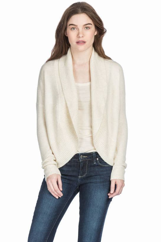 Soft & Cozy Rounded Open Cardigan