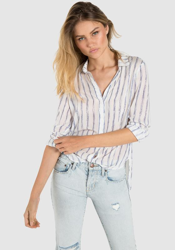 Step Hem Button Down