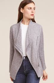 Downtown Heather Grey Jacket