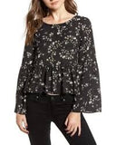 Josephina Long Sleeve Floral Top