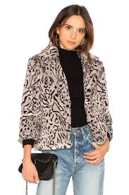 Belle Snow Leopard Jacket