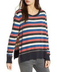Multicolor Stripe Sweatshirt