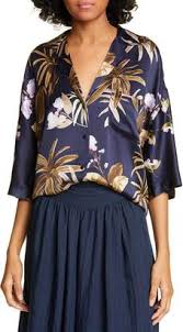 Mixed Tropical Garden PJ Shirt