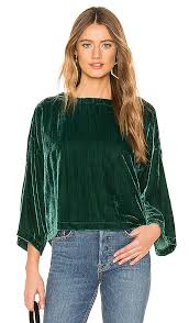 Christel Top in Winter Ivy