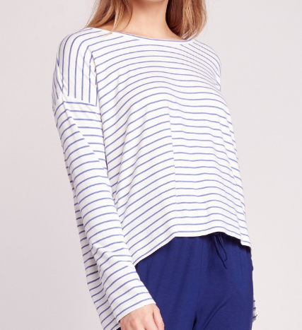 Fast & Loose Striped Top
