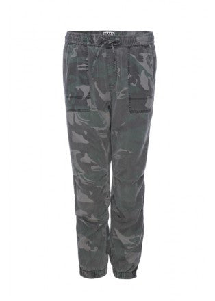 Camo Cargo Pant with Zips