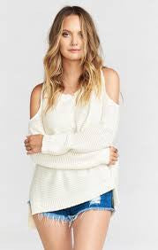 Shiver Shoulder Sweater