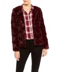 Faux Real Chubby Fur Jacket