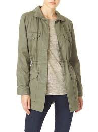 Tasha Parka Military Jacket