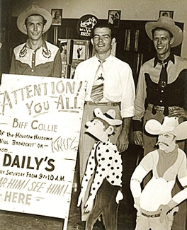 Hank Williams, Biff Collie and Jericho