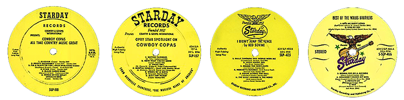 Starday Records labels