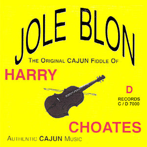 Harry Choates-Jolie Blon