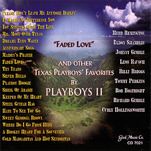 Playboys II - Faded Love