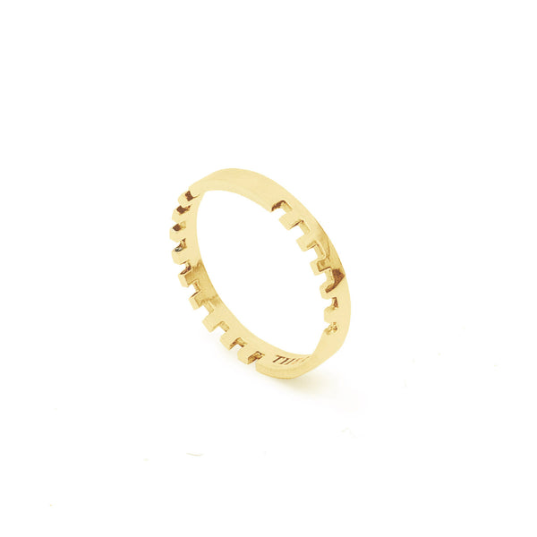 Anthem Ring in 9ct Yellow or Rose