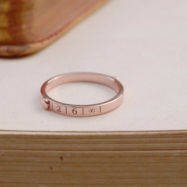 9 ct Rose Destination Ring