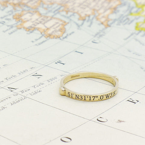 9 ct Yellow Destination Ring