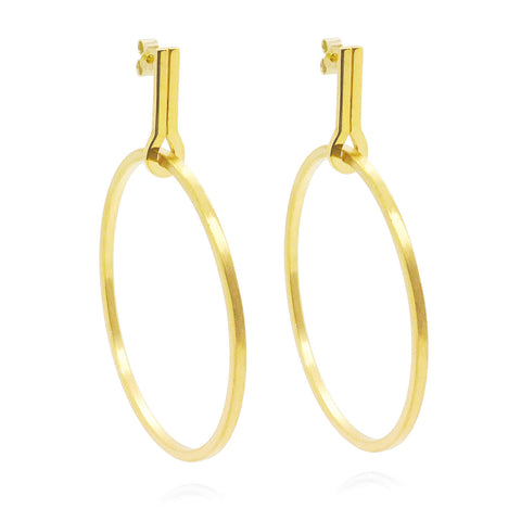 Element Hoops Gold