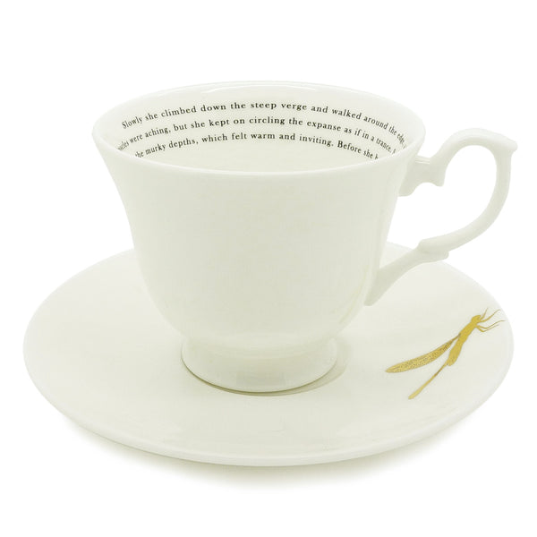 Gone Swimming Teacup & Saucer