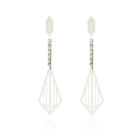 Silver Adisa Earrings