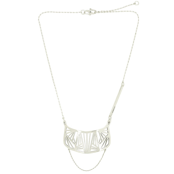 Silver Ara Necklace