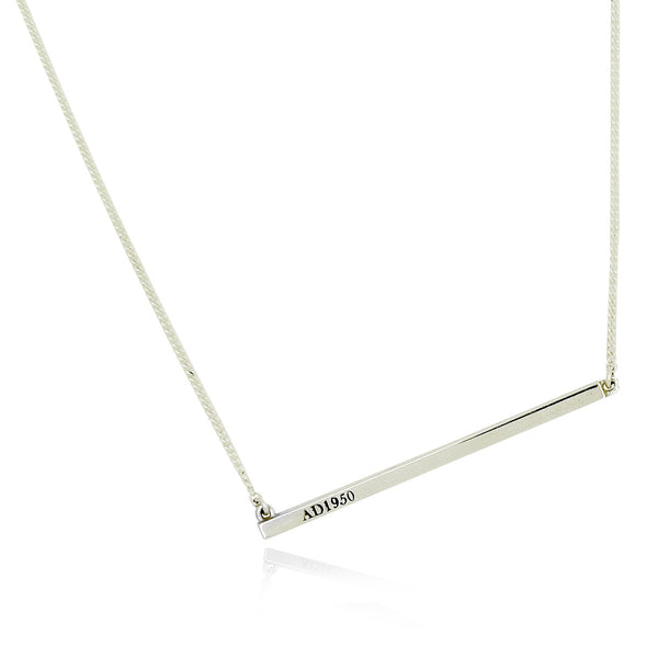Silver Eto Necklace