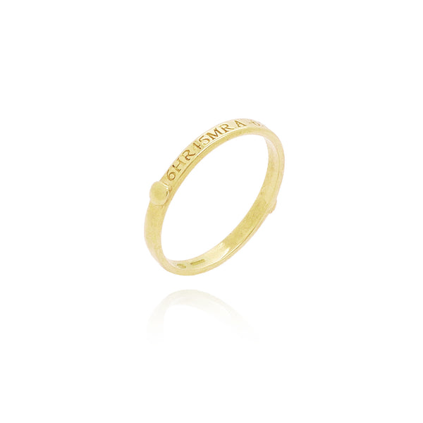 Sirius Stacking ring in 9ct gold