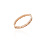 Sirius Stacking Ring in 9ct Rose