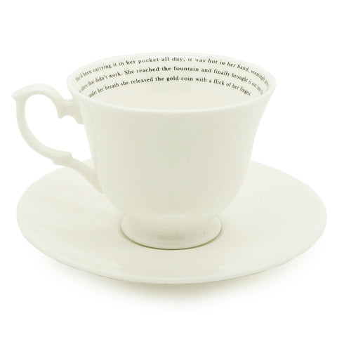 The Wish Teacup & Saucer
