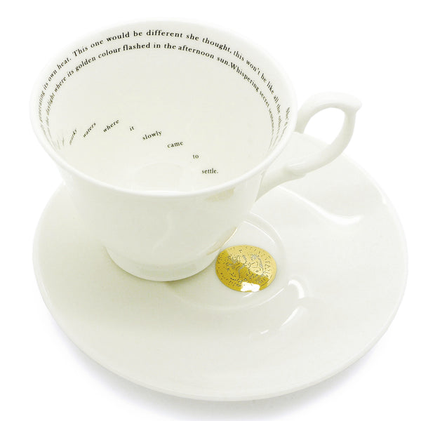 Teacup & saucer set of 2