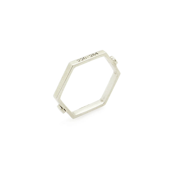 Vega Stacking Ring in Silver