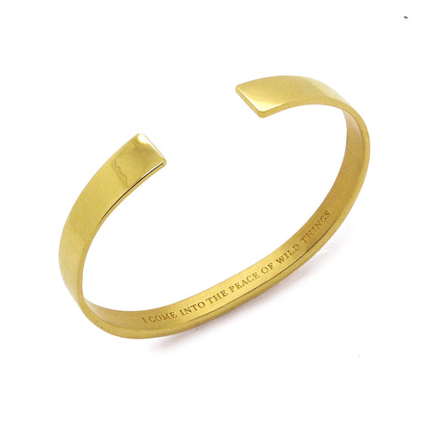 Wild Things Bracelet Gold