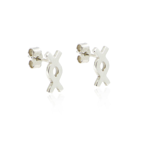 Silver Calix Studs