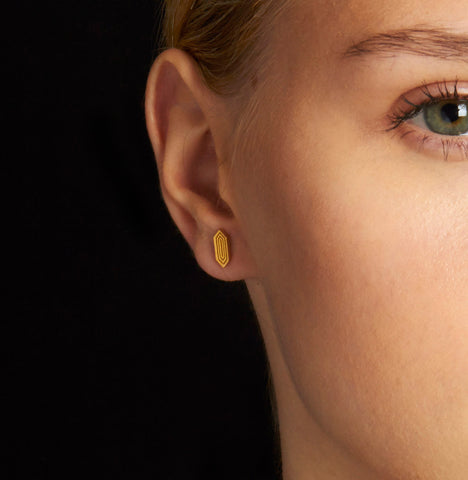 Astra Studs Gold