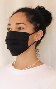 Pleated Cotton Mask
