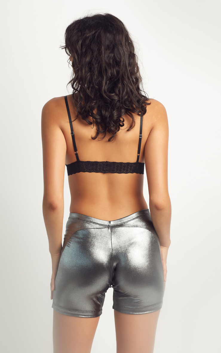 Lana Short Silver | SOI. Collection