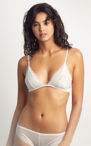 Faith Bralette White | Soft Bra