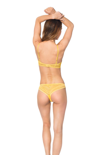 Heather Panty Yellow Gold | Made in Montreal