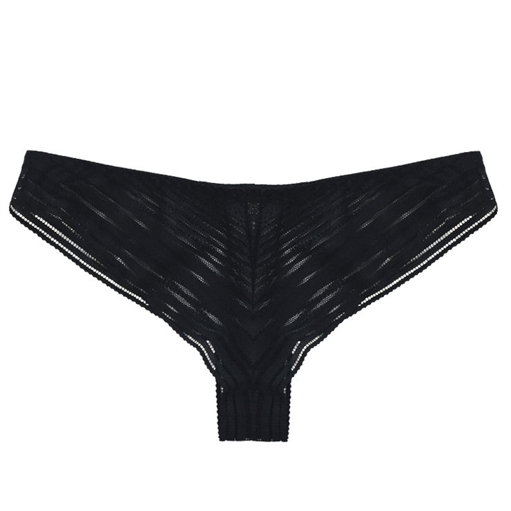 Heather Panty Black | Made in Montreal